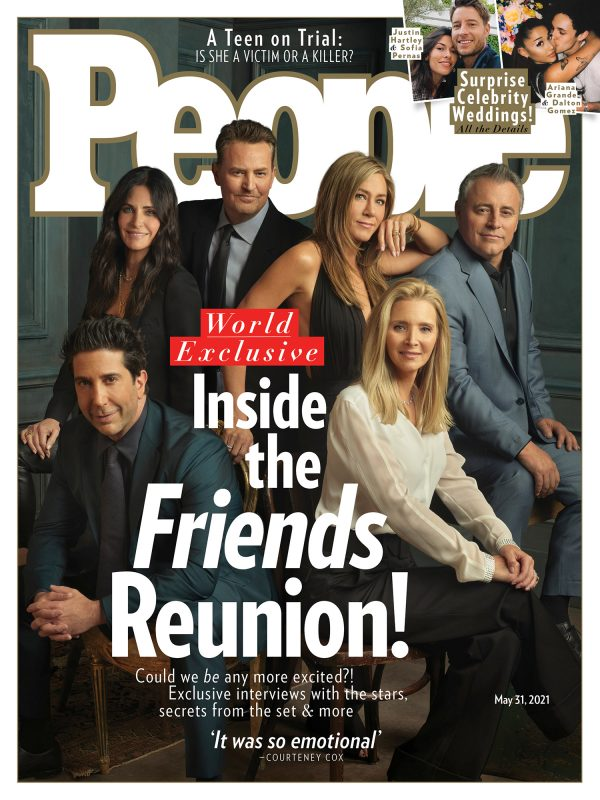 A 'Friends' Reunion Special Is Coming to HBO Max this May 1 MUGIBSON WRITES