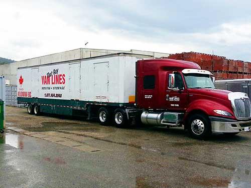 That Guy Van Lines - one of our semi trucks
