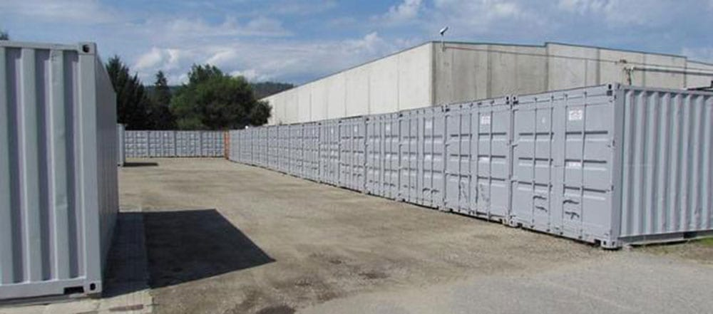 Outside Storage Units at That Guy Van Lines