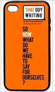 ThatGuyWriting Brand Consultancy iPhone case