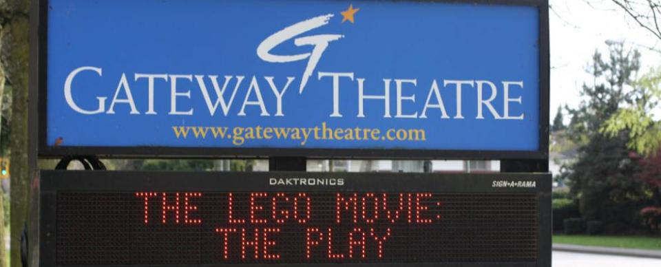 Click for an extra special extremely official press release from Gateway Theatre.