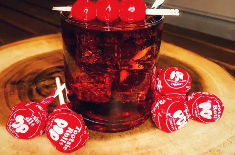 CHERRY TOOTSIE ROLL POP