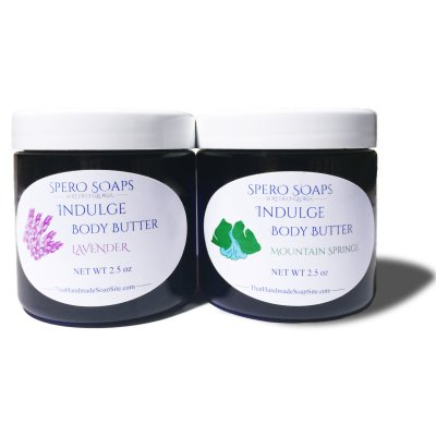 100% natural body butter