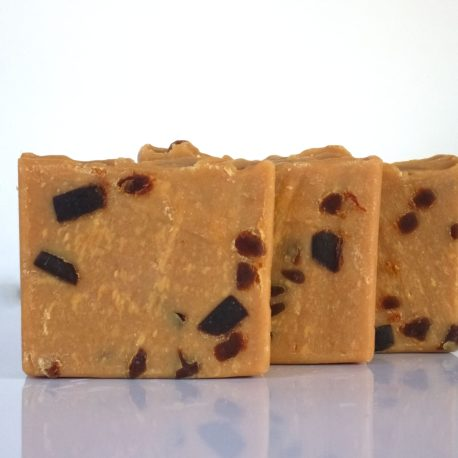 Chocolate chunk Goat milk soap