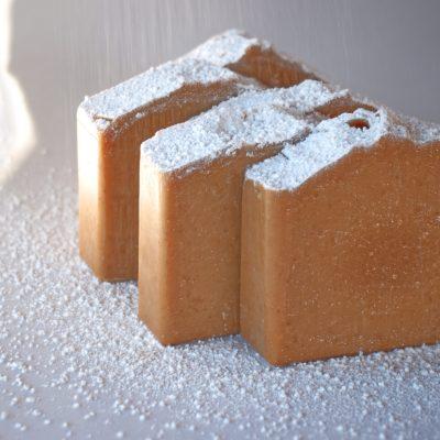 lemon pound cake goats milk soap