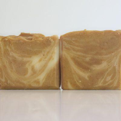 Papaya honey turmeric soap