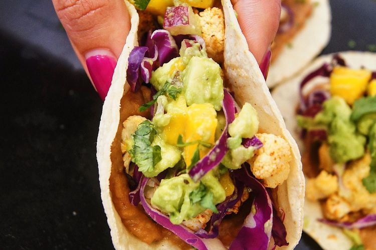 Roasted-cauliflower-tacos-folded-in-my-hand