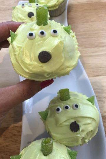 Toy-Story-Alien-Cupcakes-with-one-in-my-hand-2