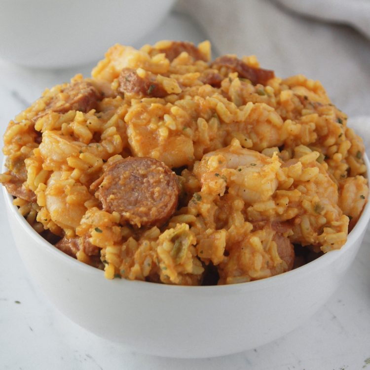 Easy 40 minute Jambalaya