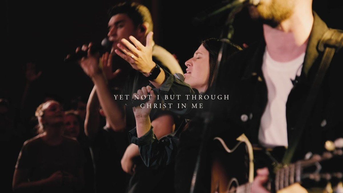 Tune for Tuesday: Yet Not I But Through Christ In Me