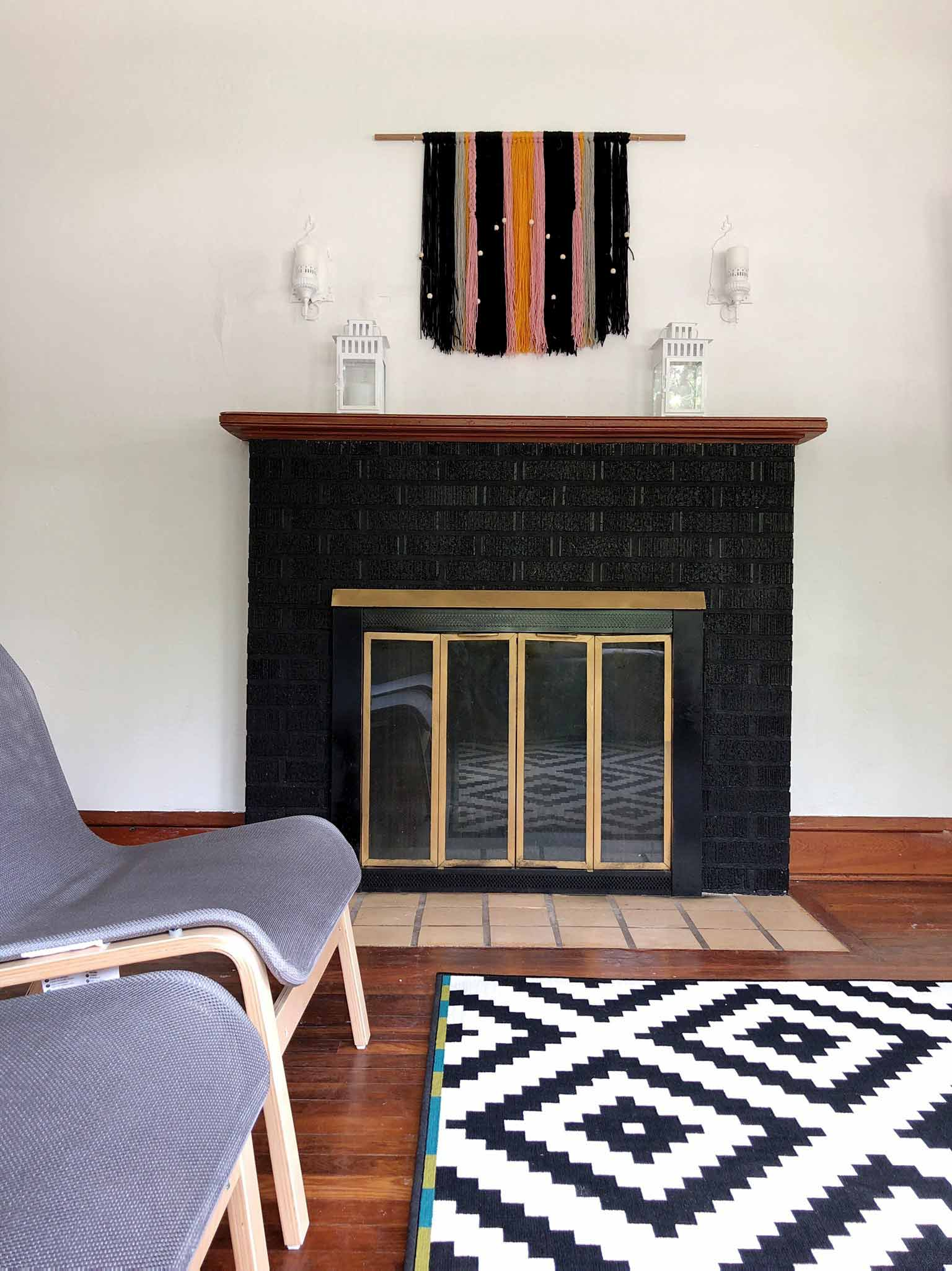 A Modern Minimalist Living Room Makeover On A Budget