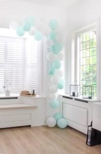 ballonboog, feestje, kinderfeestje, feestdecoratie, ballonnen, ballonboog maken, inspiratie, thathomepage