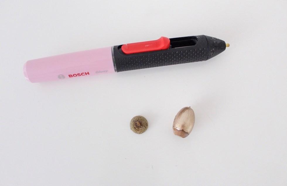 Bosch Gluey, lijmpen, lijmpistool, draadloos, herfsthuisje maken, herfsttafel, knutselen, DIY, interieurinspiratie, thathomepage, (th)athomepage