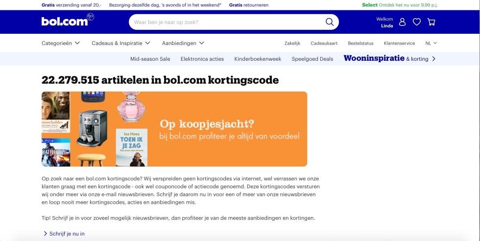 Bol.com, kortingscode, besparen op je interieuraankopen, interieur, besparen, bespaartip, bespaartips, budgettip, budgettips