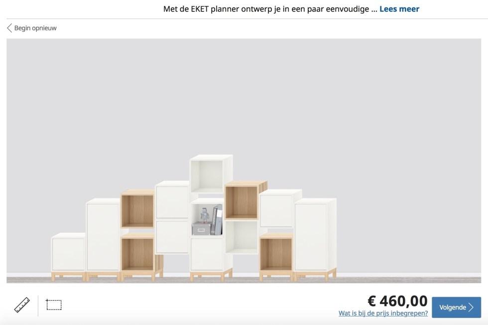 Ikea, Ikea modulekast, modulekast, modulekasten, Ikea Eket, wandkast, vakkenkast, zelf samenstellen, interieur, interieurinspiratie, thathomepage, (th)athomepage