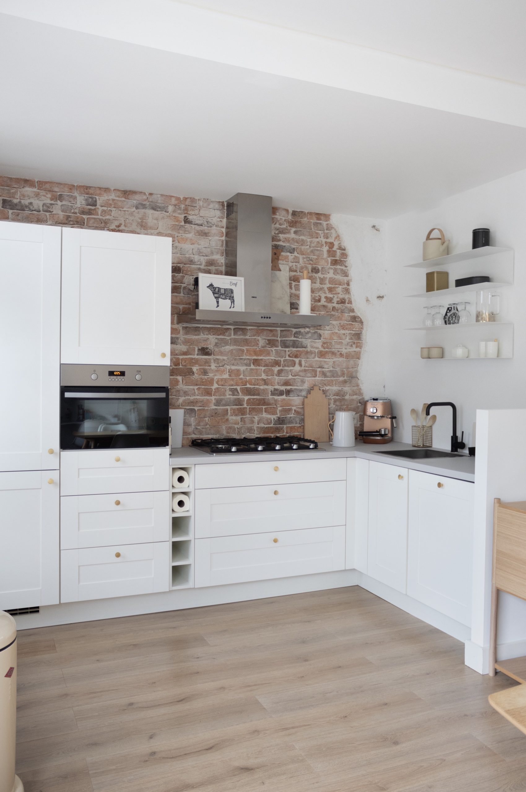 Spiksplinternieuw Keuken makeover: zelfde keuken, nieuwe look - (TH)ATHOMEPAGE LU-32