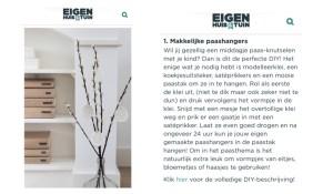 eigen huis en tuin, Eigen Huis & Tuin, paashangers, thathomepage, in de media, (th)athomepage, interieurinspiratie, diy, diy paashangers