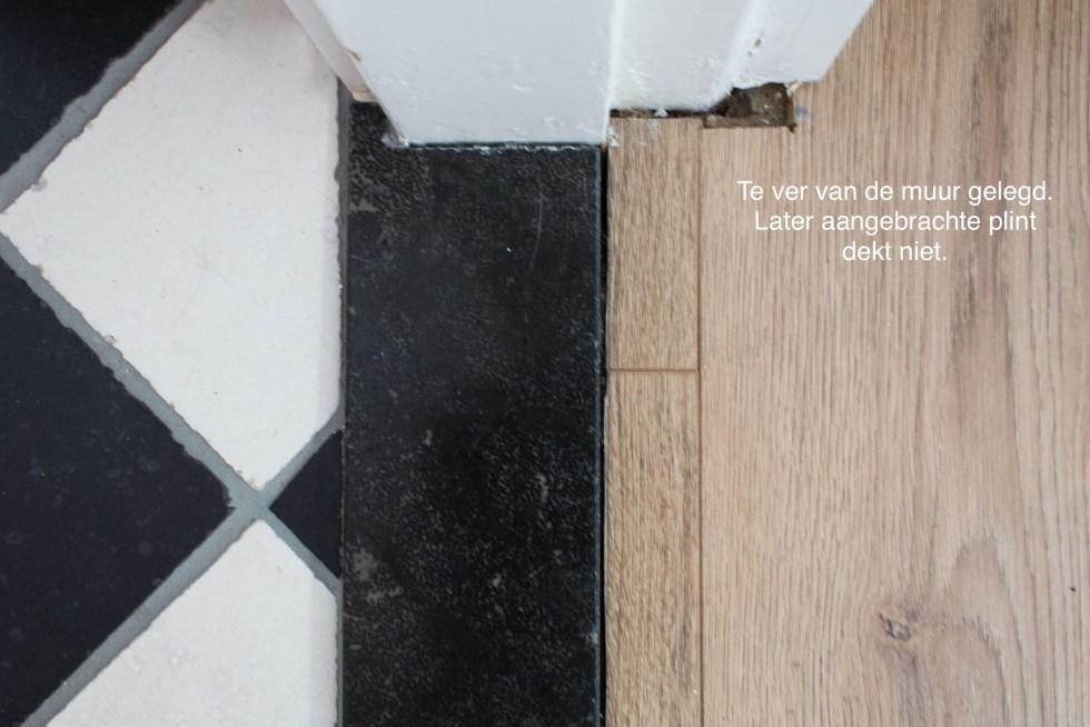 laminaat, te strak leggen, laminaat leggen, te dicht op de muur, interieurinspiratie, interieur, laminaatvloer, laminaat leggen fouten, laminaat leggen tips, thathomepage, (th)athomepage
