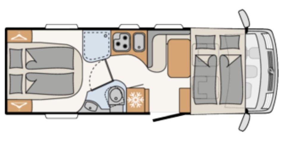 camper, Dethleffs, integraal camper, camperreis, reizen met een camper, coronaproof, camper, campervakantie