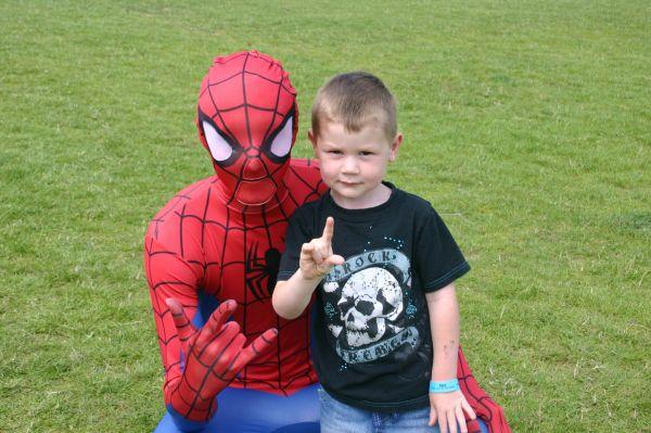 Rowan & Spiderman
