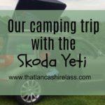 Skoda Yeti goes camping