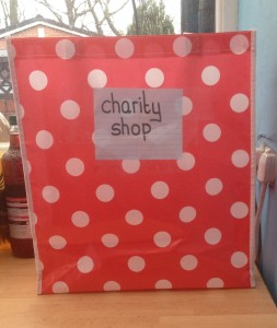 bag for charity shop