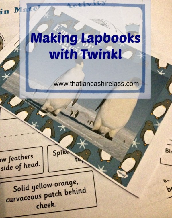 making lapbooks with twinkl