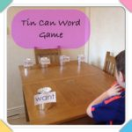 The Tin Can Word Game