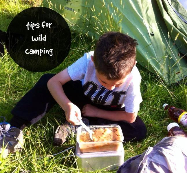 wild camping pinterest