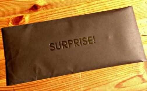 Datevitation envelope