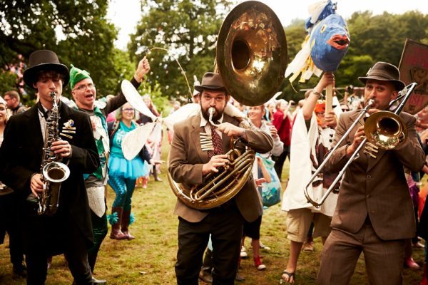 A Day At The Lake - brass bands 1