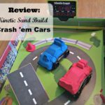Kinetic Sand Build – Crash 'em Cars