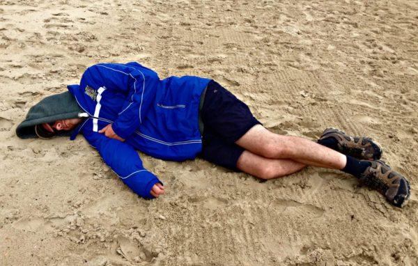 beach sleep