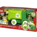 Review: BRIO Light & Sound Garbage Truck