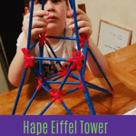 Educational Resource Review: Hape Flexistix Eiffel Tower