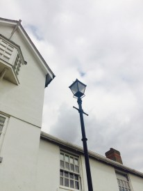 Classic lamp post