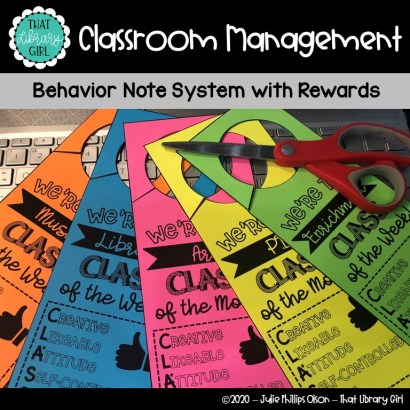 This is a photo of a Classroom Management system from Teachers Pay Teachers.