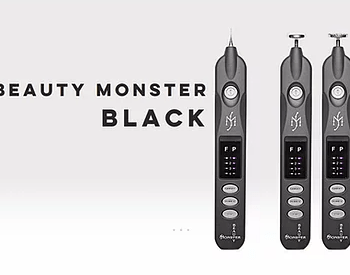Black Beauty Monster Plasma Pen