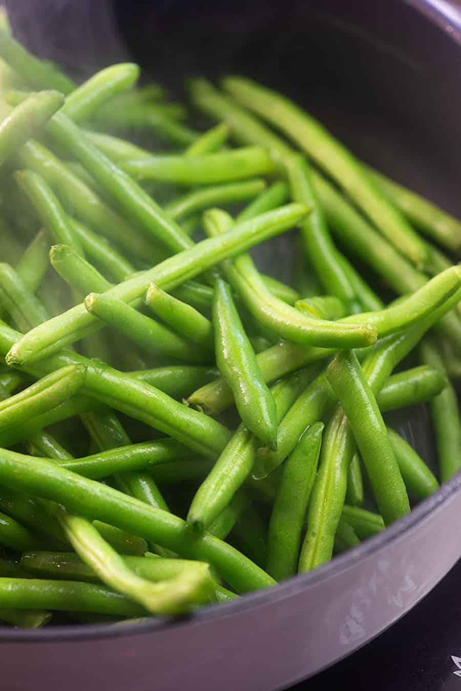 How Fresh Fresh Green Beans