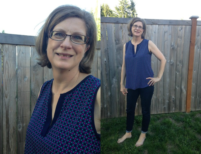 stitch fix mom blouse