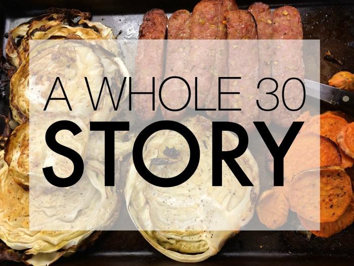A WHOLE 30 STORY