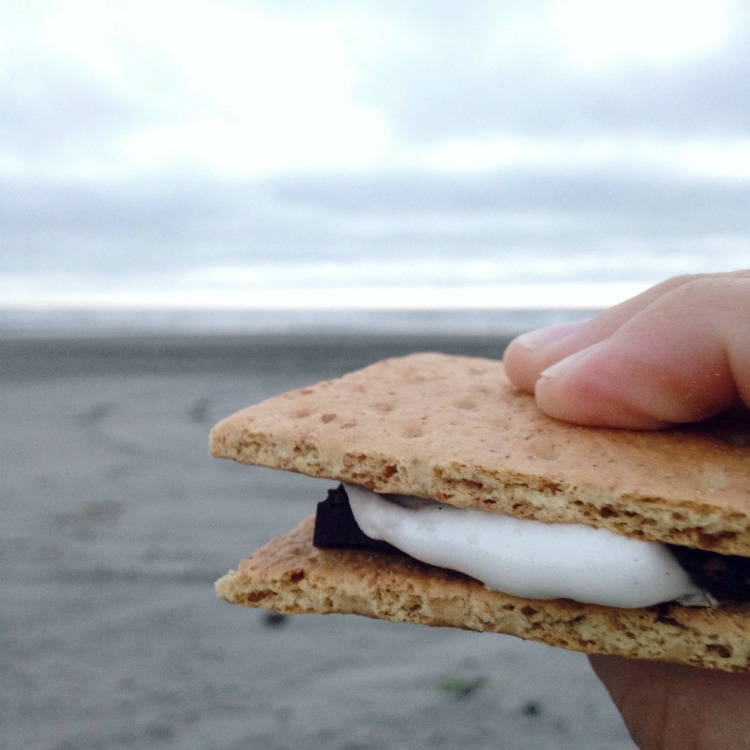 sea salt smore melted