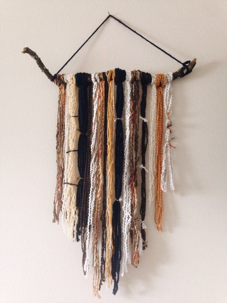 Wall Yarn Art DIY