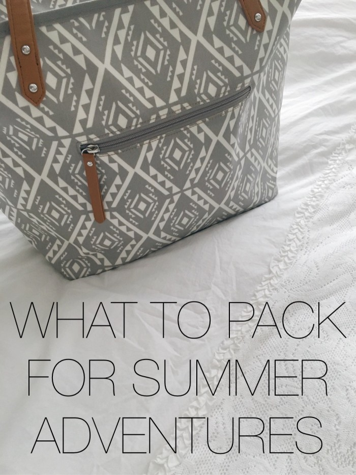 What To Pack For Summer Adventures