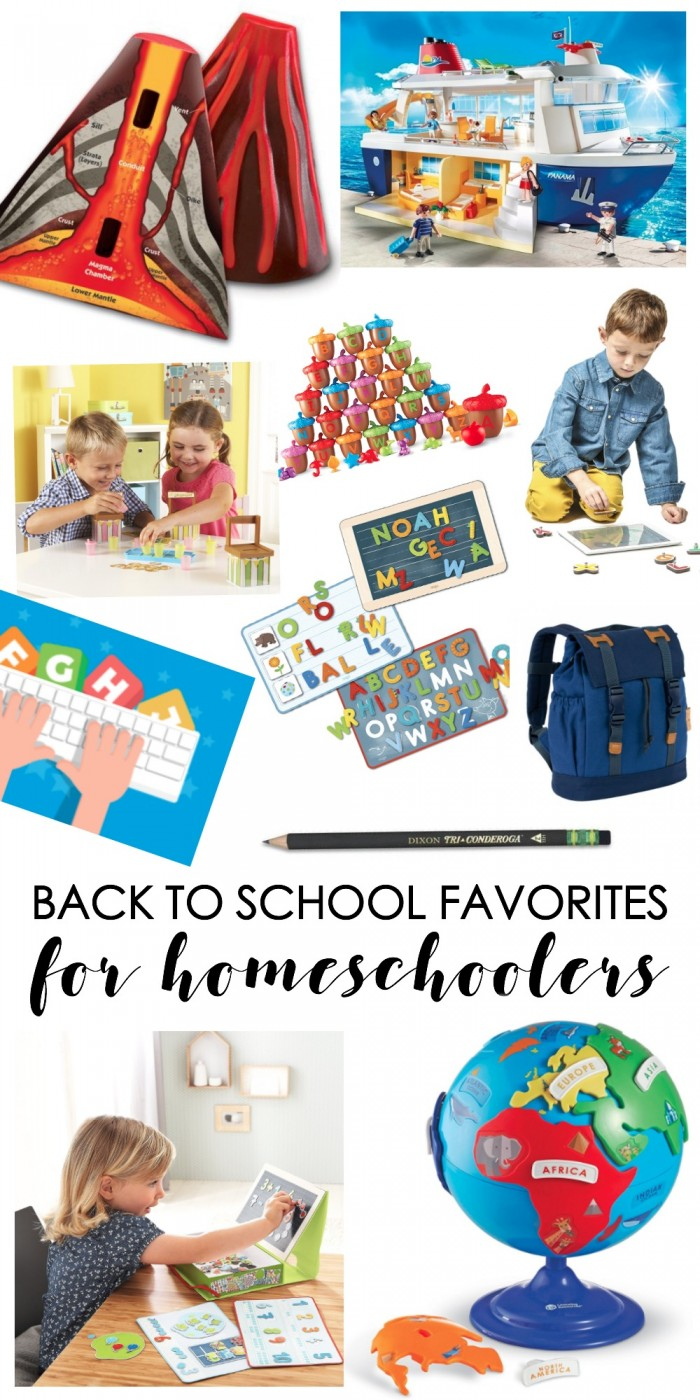 Back To School Favorites For Homeschoolers