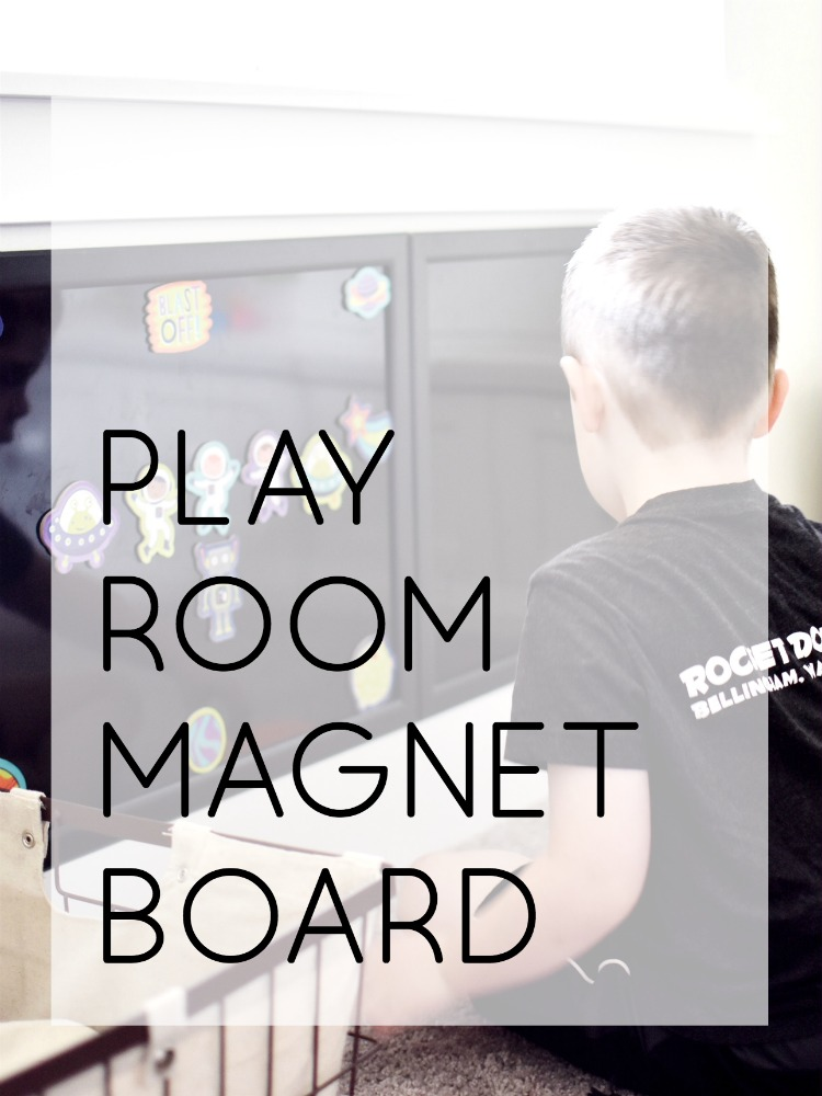 Play Room Magnet Board