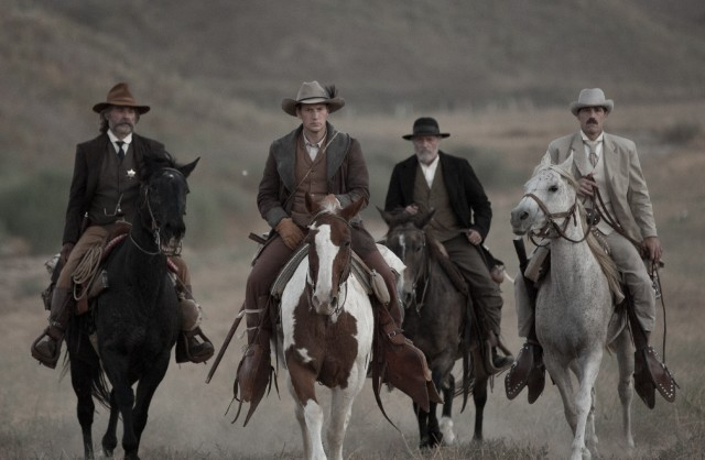 Bone Tomahawk Kurt Russell, Patrick Wilson, Matthew Fox and Richard Jenkins