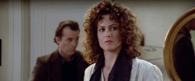 That Moment In Ghostbusters 1984 Checking Out Dana That Moment In