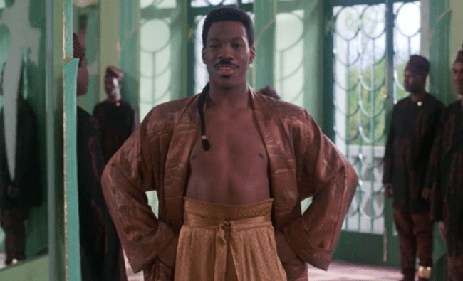 That Moment In Coming To America 1988 Akeem Makes His Stand That Moment In