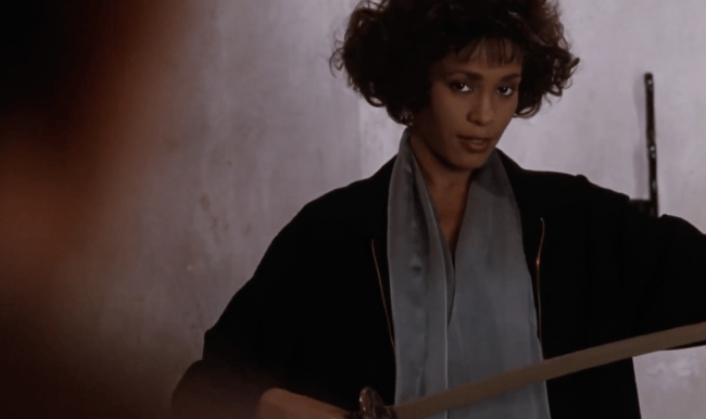 That Moment In The Bodyguard 1992 The Meaning Of Sword And Silk That Moment In